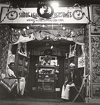 Shroff Channabasappa Incense booth at London Exhibition - 1930